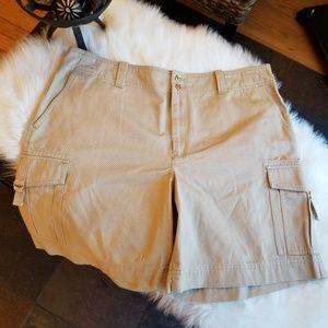 Lauren Ralph Lauren Khaki Cargo Shorts - 16